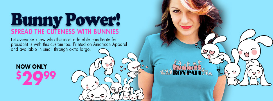 Bunnies for Ron Paul
