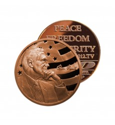 Ron Paul 2012 One Ounce Copper Round