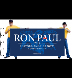 Ron Paul Official Eagle Vinyl Banner