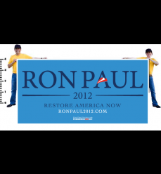 Ron Paul Official Navy on Carolina Vinyl Banner
