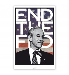 End the Fed Poster (23x35)