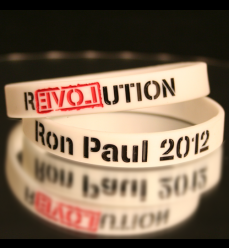 White RP 2012 Revolution Wristband  