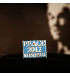 Vote For Peace Ron Paul 2012 Lapel Pin