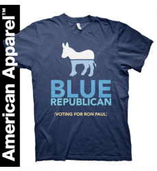 American Apparel Blue Republican