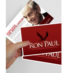 "Large (4""x6"") Red Series Flyers for Conservatives"