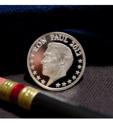 Ron Paul Tenth Ounce Silver Round