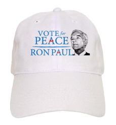 Vote for Peace Unstructured Cap